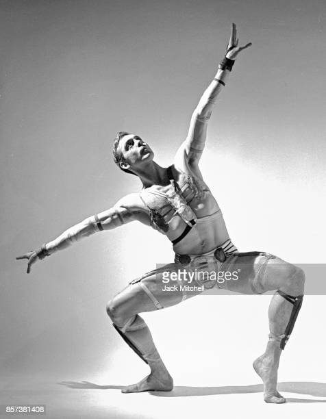 Dancer choreographer and dance company founder Paul Taylor photographed in 1962