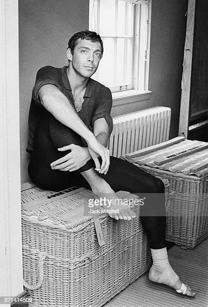 Dancer choreographer and dance company founder Paul Taylor photographed in 1964
