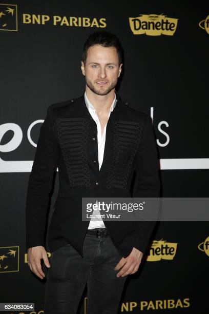 Dancer Christian Millette from 'Danse avec les Stars' attends the '4th Melty Future Awards' at Le Grand Rex on February 6 2017 in Paris France