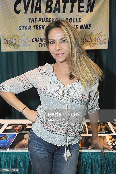Dancer Cyia Batten attends Comic Con Palm Springs 2016 at Palm Springs Convention Center on August 27 2016 in Palm Springs California