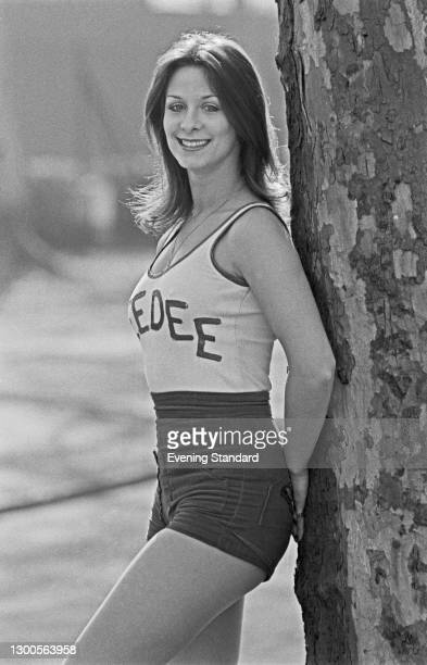 Dancer Dee Dee Wilde of British all-female dance troupe Pan's People, UK, 23rd March 1973.