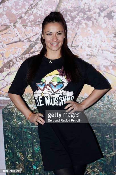 "Dancer Denitsa Ikonomova attends Disney's ""Mary Poppins Returns' Paris Gala Screening at UGC Cine Cite Bercy on December 10 2018 in Paris France"