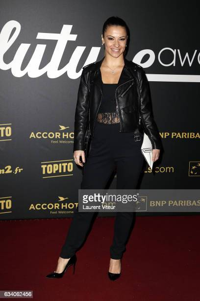 Dancer Denitsa Ikonomova from 'Danse avec les Stars' attends the '4th Melty Future Awards' at Le Grand Rex on February 6 2017 in Paris France