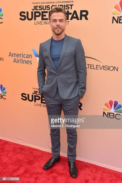 Dancer Derek Hough attends an FYC Event for NBC's Jesus Christ Superstar Live in Concert at the Egyptian Theatre on May 21 2018 in Hollywood...