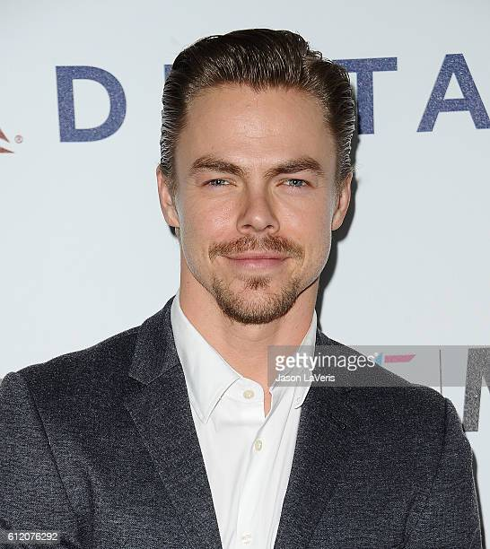 Dancer Derek Hough attends MPTF's 95th anniversary celebration 'Hollywood's Night Under The Stars' on October 1 2016 in Los Angeles California