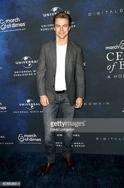Dancer Derek Hough attends the 2016 March of Dimes Celebration of Babies at the Beverly Wilshire Four Seasons Hotel on December 9 2016 in Beverly...