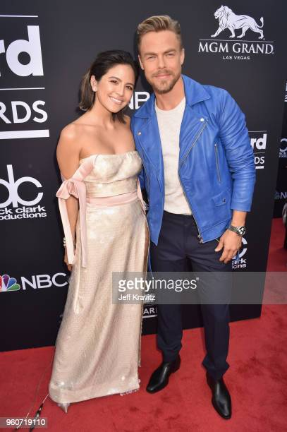 Dancer Derek Hough attends the 2018 Billboard Music Awards at MGM Grand Garden Arena on May 20, 2018 in Las Vegas, Nevada.