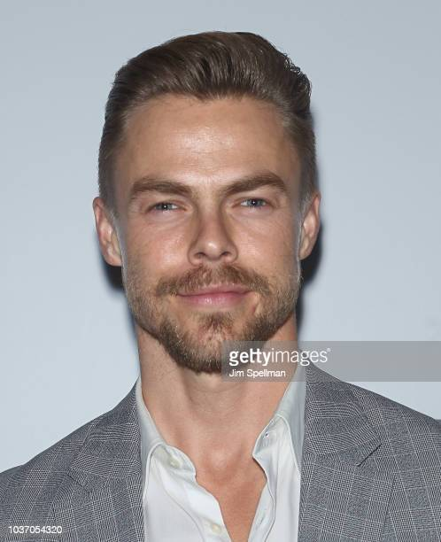 Dancer Derek Hough attends the party for the casts of NBC's 20182019 Season hosted by NBC and The Cinema Society at Four Seasons Restaurant on...