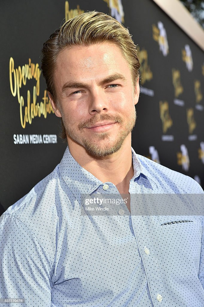 Dancer Derek Hough attends the Television Academy's 70th Anniversary Gala on June 2, 2016 in Los Angeles, California.