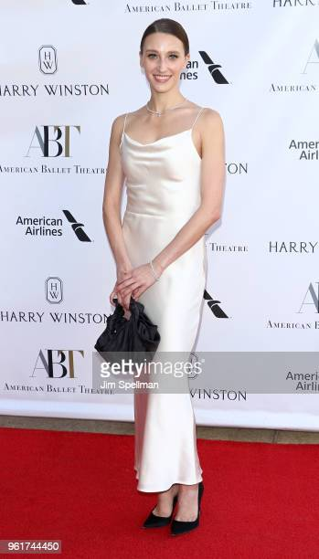 Dancer Devon Teuscher attends the 2018 American Ballet Theatre Spring Gala at The Metropolitan Opera House on May 21 2018 in New York City