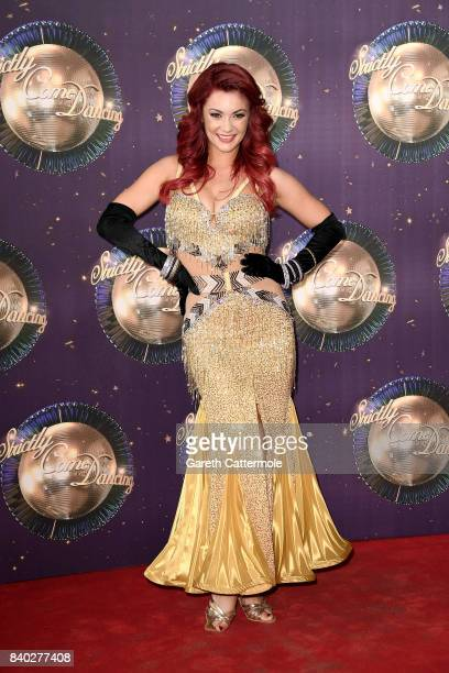 Dancer Dianne Buswell attends the 'Strictly Come Dancing 2017' red carpet launch at The Piazza on August 28 2017 in London England