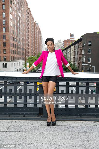 Dancer Ebony Williams is photographed for Pointe Magazine on May 15 in New York City PUBLISHED IMAGE