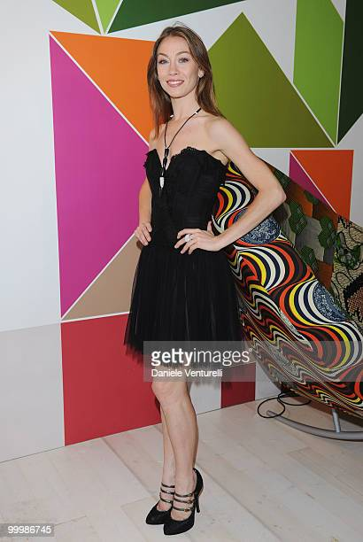 Dancer Eleonora Abbagnato attends the Ischia Global Film Festival Party hosted by Paul Haggis held at the Pavillion Italia during the 63rd Annual...