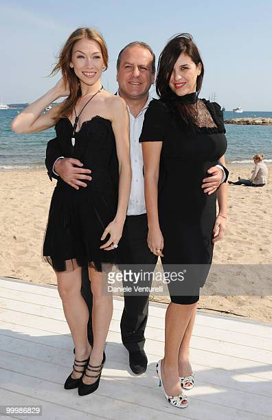 Dancer Eleonora Abbagnato producer Pascal Vicedomini and actress Gisella Marengo attend the Ischia Global Film Festival Party hosted by Paul Haggis...