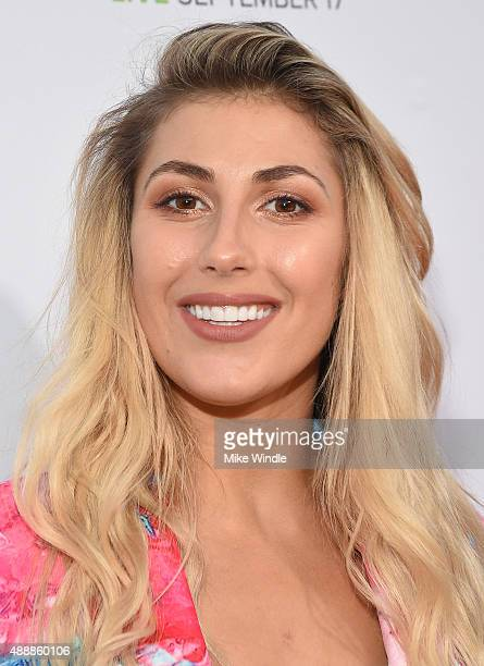 Dancer Emma Slater attends VH1's 5th Annual Streamy Awards at the Hollywood Palladium on Thursday September 17 2015 in Los Angeles California