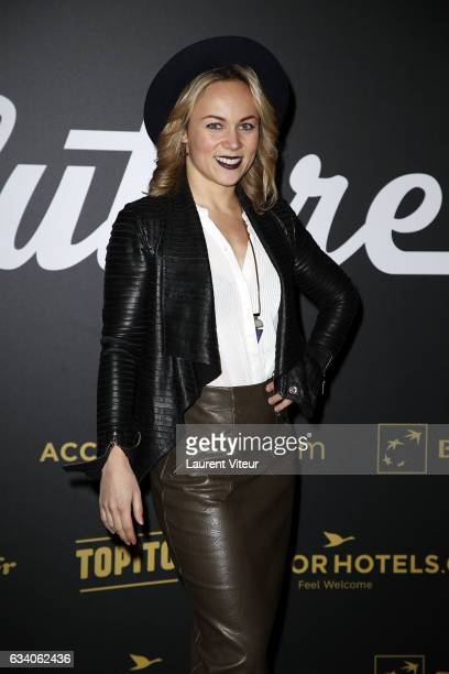 Dancer Emmanuelle Berne from 'Danse avec les Stars' attends the '4th Melty Future Awards' at Le Grand Rex on February 6 2017 in Paris France