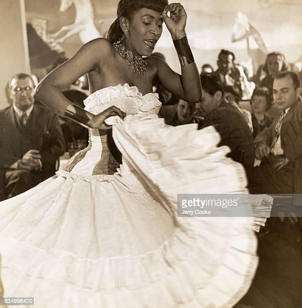 Dancer Entertaining at Nightclub