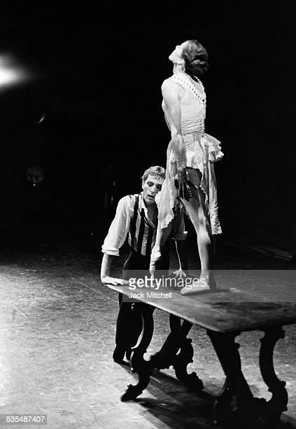 Dancer Erik Bruhn performing 'Miss Julie' in 1967