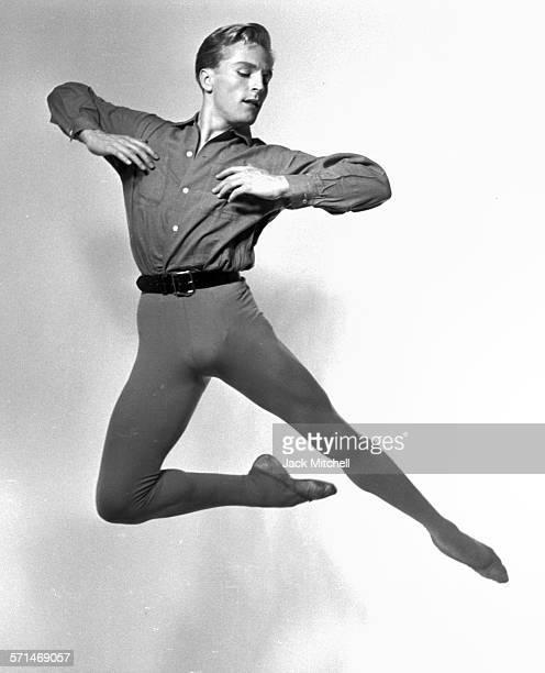 Dancer Erik Bruhn photographed in 1956