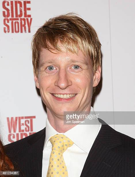 Dancer Ethan Stiefel attends the West Side Story Broadway revival opening night at The Palace Theatre on March 19 2009 in New York City New York