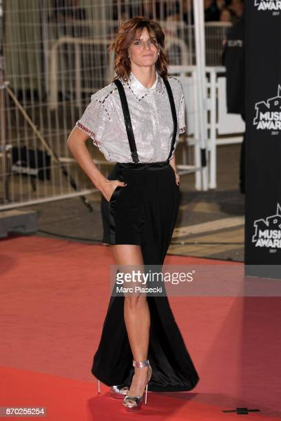 Dancer Fauve Hautot attends the 19th 'NRJ Music Awards' ceremony on November 4 2017 in Cannes France