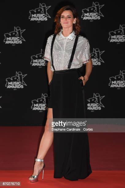Dancer Fauve Hautot attends the 19th NRJ Music Awards on November 4 2017 in Cannes France