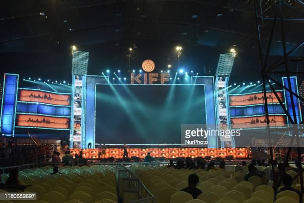 Dancer final Stage rehearsal ,Tomorrow inaugurationCeremony 25th International Kolkata Film Festival at Netaji Indoor Stadium on November 07,2019 in...