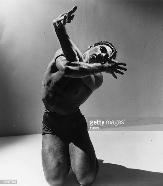 Dancer Francisco Moncion in the title role of a New York City Ballet production of 'The Prodigal Son'