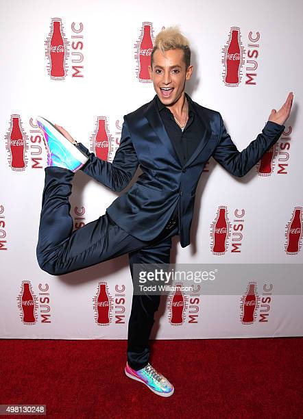 Dancer Frankie Grande attends the 2015 American Music Awards Pre Party with CocaCola at the Conga Room on November 20 2015 in Los Angeles California