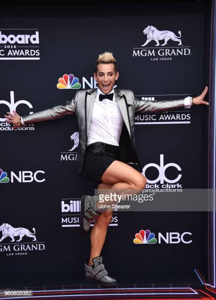 Dancer Frankie Grande attends the 2018 Billboard Music Awards at MGM Grand Garden Arena on May 20 2018 in Las Vegas Nevada