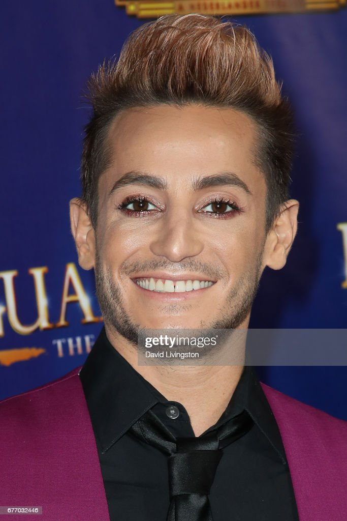 Dancer Frankie J. Grande arrives at the premiere of 'The Bodyguard' at the Pantages Theatre on May 2, 2017 in Hollywood, California.
