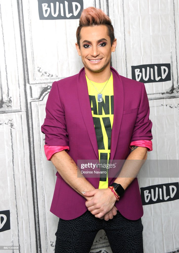 Dancer Frankie J. Grande attends Build to discuss Amazon's 'Style Code Live' at Build Studio on May 11, 2017 in New York City.