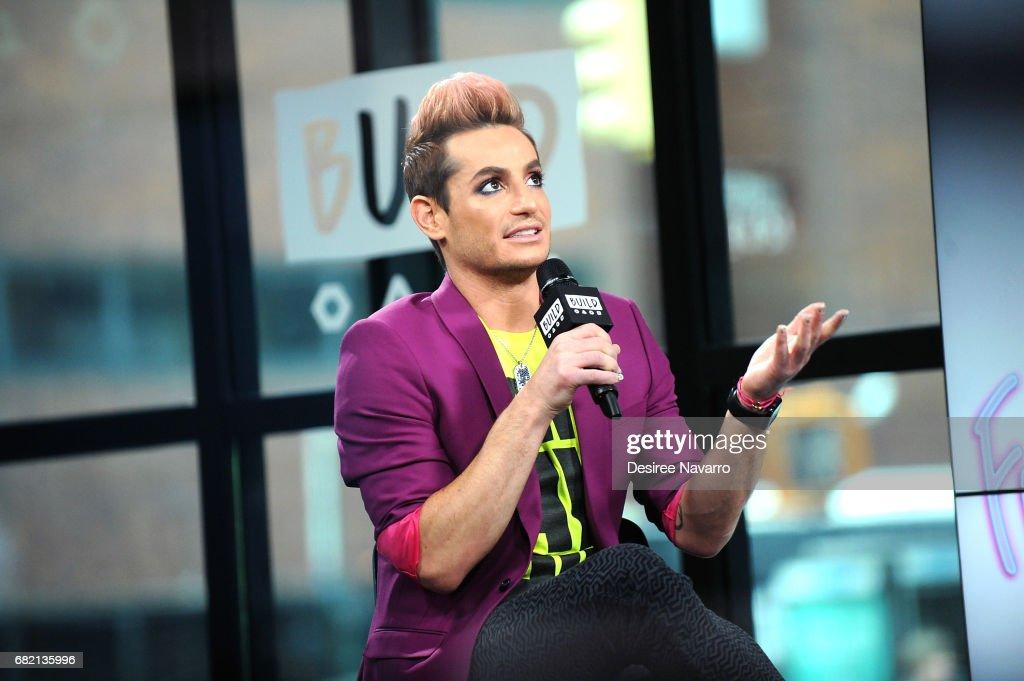 "Build Presents Frankie J. Grande Discussing Amazon's ""Style Code Live"" : ニュース写真"