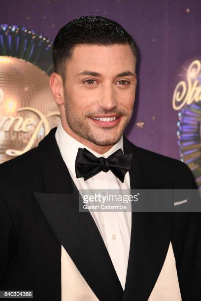Dancer Giovanni Pernice attends the 'Strictly Come Dancing 2017' red carpet launch at The Piazza on August 28 2017 in London England