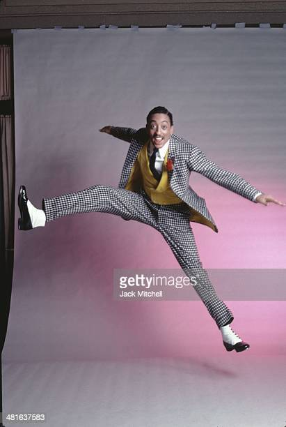 Dancer Gregory Hines in costume for his starring role in 'Sophisticated Ladies' on Broadway photographed in 1980