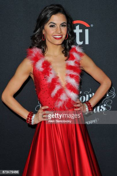 Dancer Hayley Erbert attends A California Christmas at The Grove Presented by Citi on November 12 2017 in Los Angeles California