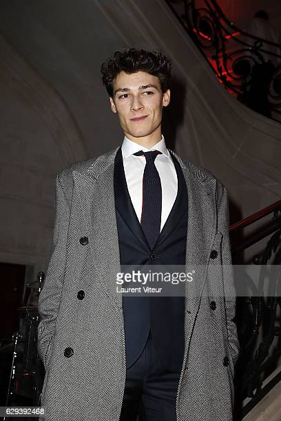 Dancer Hugo Marchand attends Link Aides Charity Dinner at Pavillon Cambon Capucines on December 12 2016 in Paris France