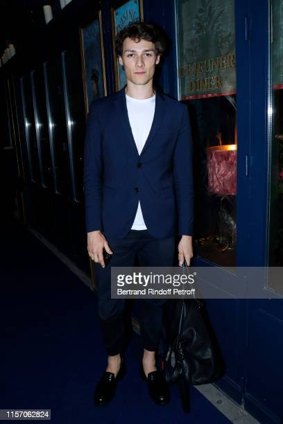 Dancer Hugo Marchand attends the Laperouse Mask Ball on the occasion of the inauguration evening of the Laperouse Restaurant as part of Paris Fashion...