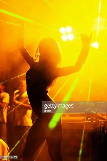 Dancer In Nightclub