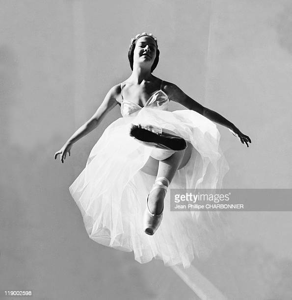 Dancer In The Air Liane Giorova In The 1950's