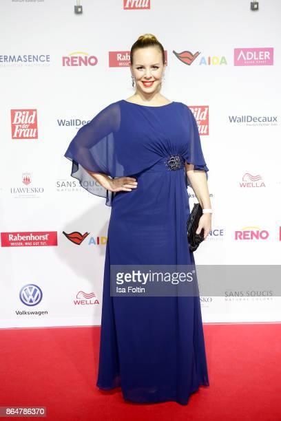 Dancer Isabel Edvardsson attends the 'Goldene Bild der Frau' award at Hamburg Cruise Center on October 21 2017 in Hamburg Germany