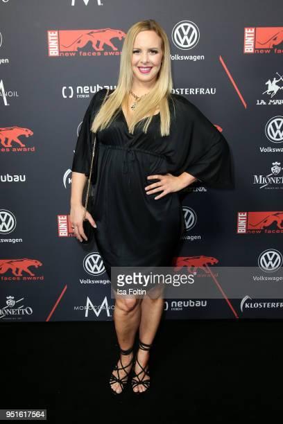 Dancer Isabel Edvardsson attends the New Faces Award Film at Spindler Klatt on April 26 2018 in Berlin Germany