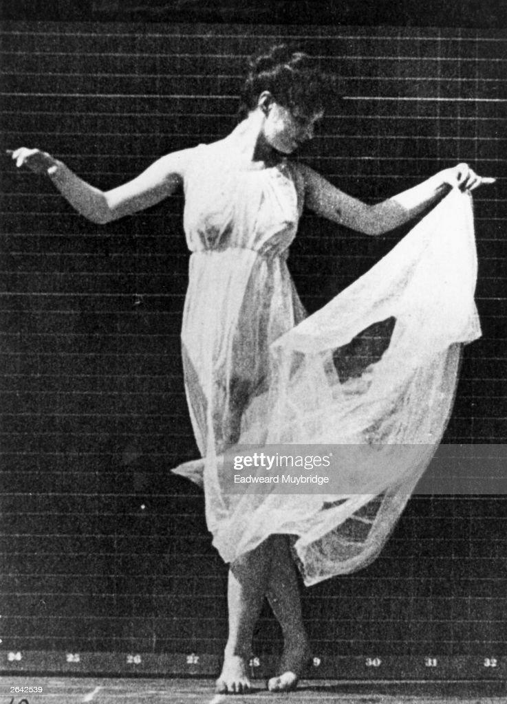 Dancer Isadora Duncan (1878 - 1927).