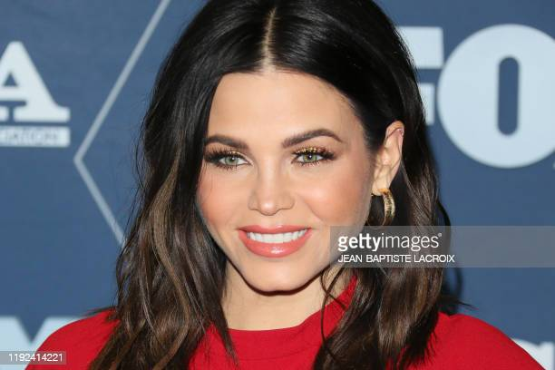 Dancer Jenna Dewan arrives for the Fox Winter TCA 2020 All-Star Party in Pasadena, California, on January 7, 2020.
