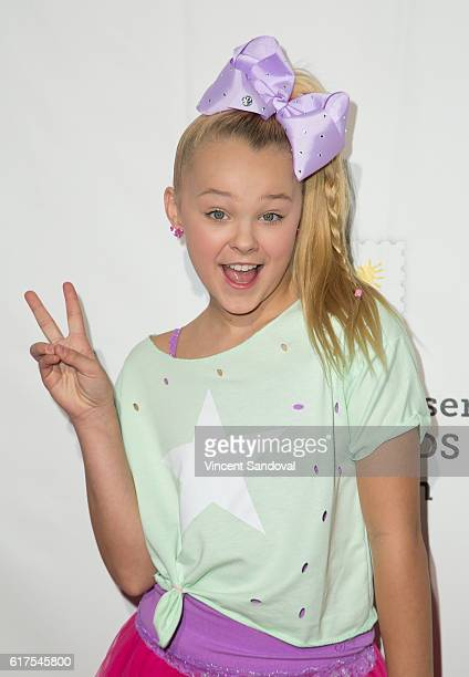 Dancer JoJo Siwa attends the Elizabeth Glaser Pediatric AIDS Foundation's 27th annual 'A Time For Heroes' at Smashbox Studios on October 23 2016 in...