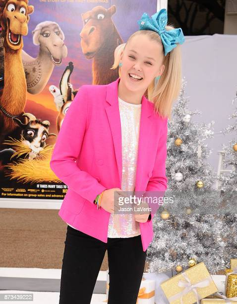 Dancer JoJo Siwa attends the premiere of 'The Star' at Regency Village Theatre on November 12 2017 in Westwood California