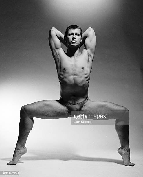 Dancer Jonathan Riseling the only Caucasian in the mostly black Alvin Ailey American Dance Theater in 1991