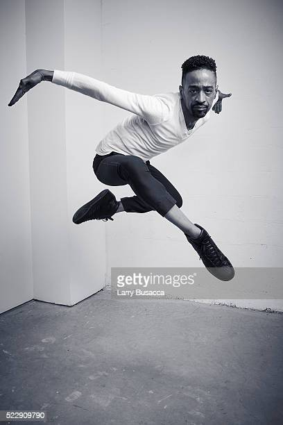 Dancer Jose Gutierrez from Strike a Pose poses at the Tribeca Film Festival Getty Images Studio on April 20 2016 in New York City