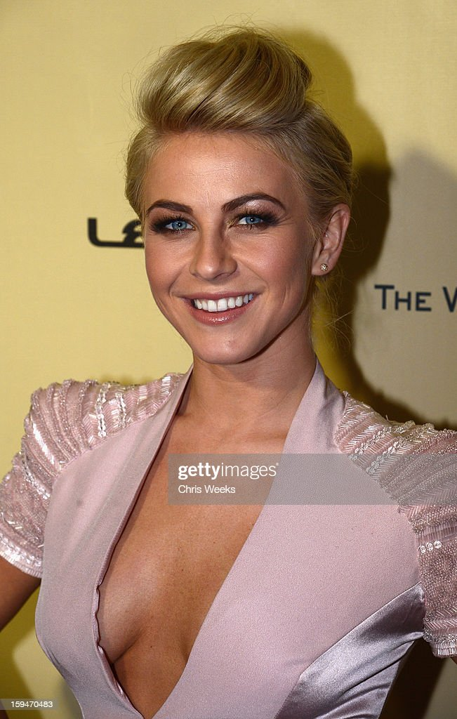 Dancer Julianne Hough attends The Weinstein Company's 2013 Golden Globe Awards after party presented by Chopard, HP, Laura Mercier, Lexus, Marie Claire, and Yucaipa Films held at The Old Trader Vic's at The Beverly Hilton Hotel on January 13, 2013 in Beverly Hills, California.