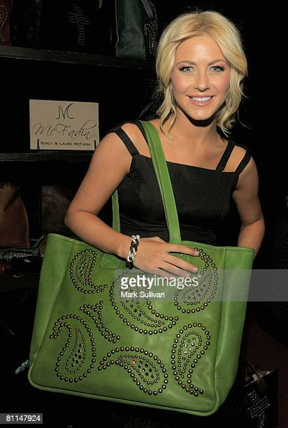 Dancer Julianne Hough in Backstage Creations poses at the 2008 Academy of Country Music Awards held on May 18 2008 in Las Vegas Nevada